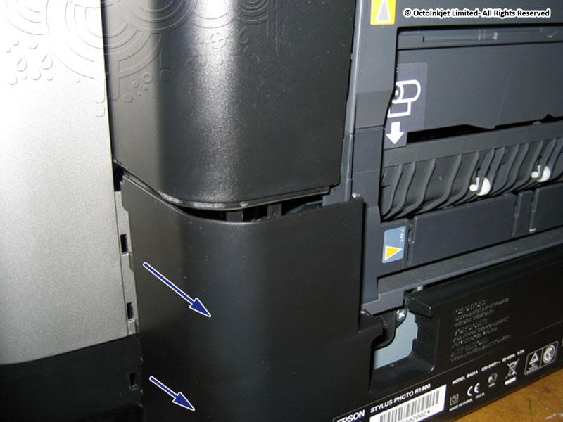 Release rear panel